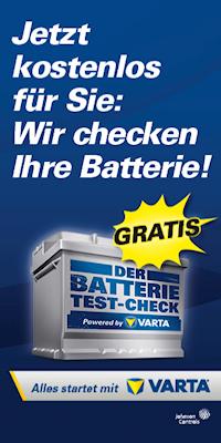 Wir testen Ihre Batterie